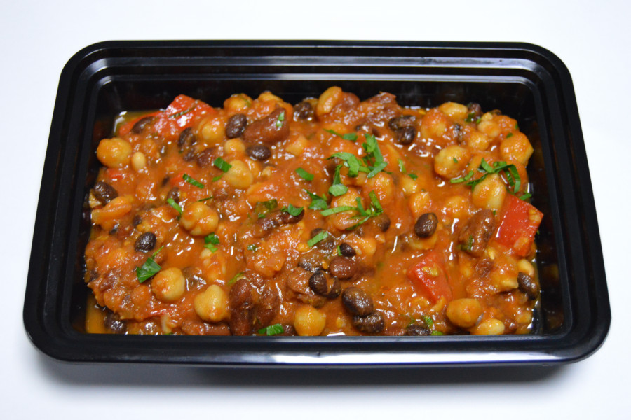 Mixed Bean & Pepper Chili