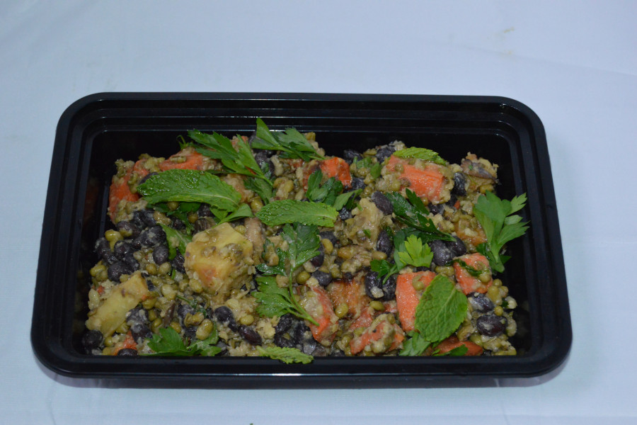 Lentil and Root Vegetable Salad(C)